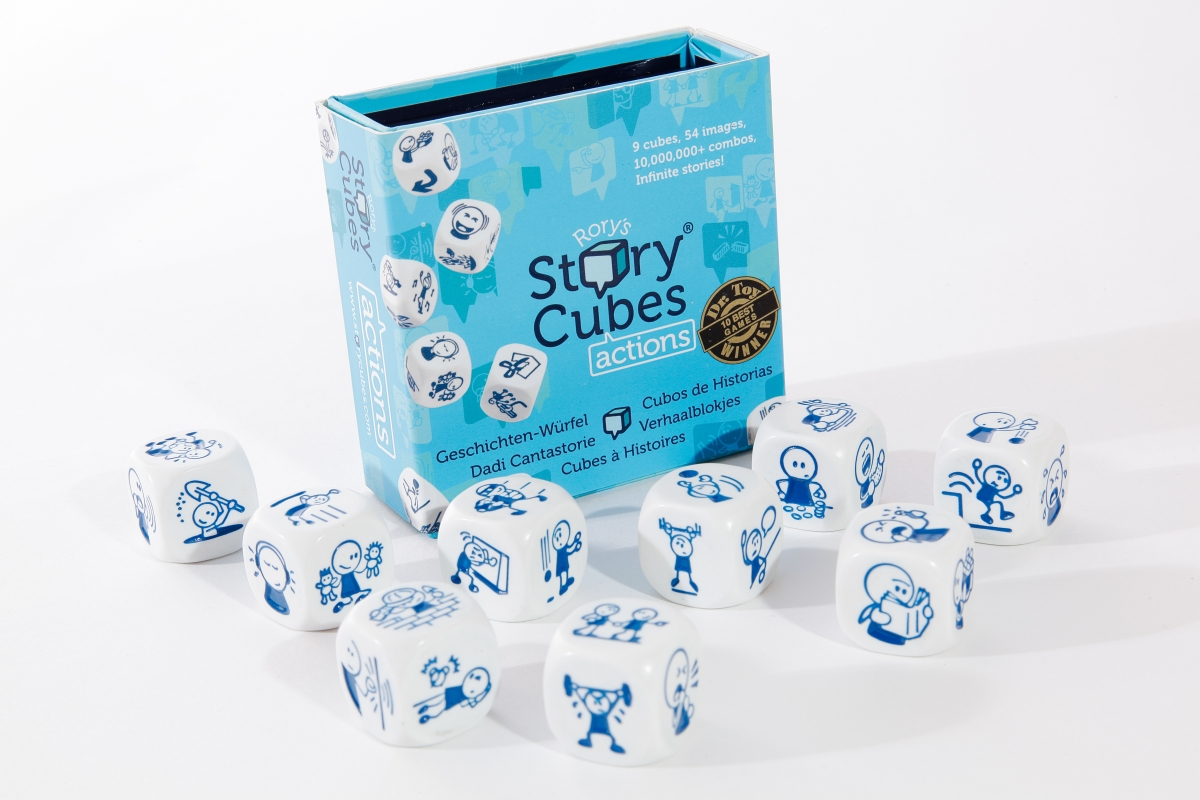 ijeux  Rory's Story Cubes  Actions