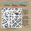 DungeonMorph Cards Cities, Ruins & Villages