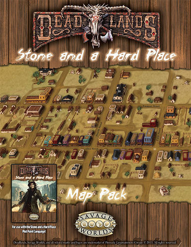Deadlands California Map.Stone And A Hard Place Map Spheremaster Games