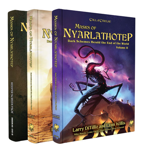 Masks of Nyarlathotep - Slipcase Set - Sphärenmeisters Spiele