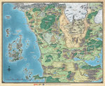Faerûn - Realm and Sword Coast Map - D&D