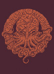 The Cthulhu Alphabet Bronze Foil Cover