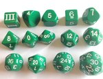 DCC Dice Forest Green