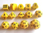 DCC Dice Sun Yellow